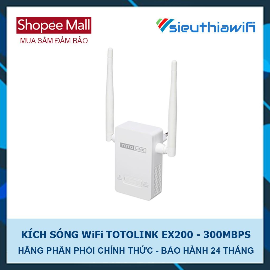 Bộ Mở Rộng Sóng WiFi TOTOLINK EX200 - KÍCH SÓNG WiFi - 2683496 , 159724273 , 322_159724273 , 259000 , Bo-Mo-Rong-Song-WiFi-TOTOLINK-EX200-KICH-SONG-WiFi-322_159724273 , shopee.vn , Bộ Mở Rộng Sóng WiFi TOTOLINK EX200 - KÍCH SÓNG WiFi