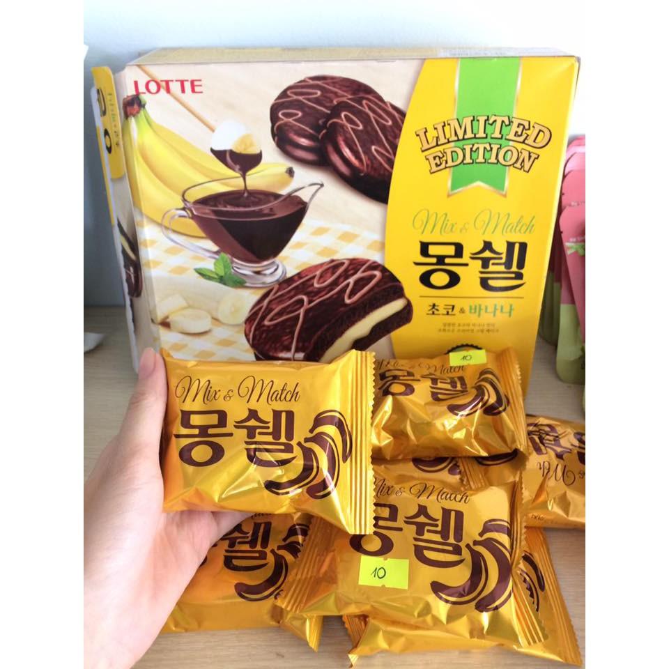 Chocopie Chuối Lotte - Hàn Quốc - 3211553 , 413145588 , 322_413145588 , 98000 , Chocopie-Chuoi-Lotte-Han-Quoc-322_413145588 , shopee.vn , Chocopie Chuối Lotte - Hàn Quốc