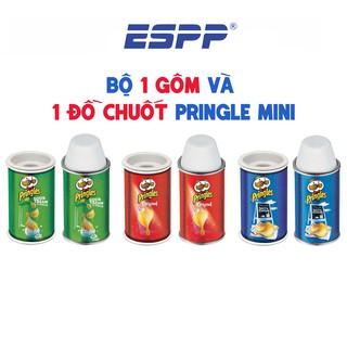 Combo đồ chuốt và gôm hình hủ khoai Pringle chất liệu kim loại - HELIX thumbnail