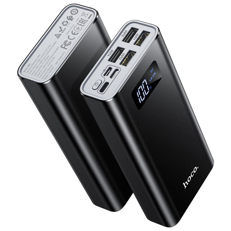 Pin sạc dự phòng hoco j46a 20000mah pin bền-tặng kèm dây sạc cho Iphone,Ipad, Samsung,Oppo,Xiaomi – quang phụ kiện