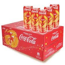 hsd 11.2020 Mẫu Xuân_Thùng 24 lon nước ngọt Coca Cola lon 330ml
