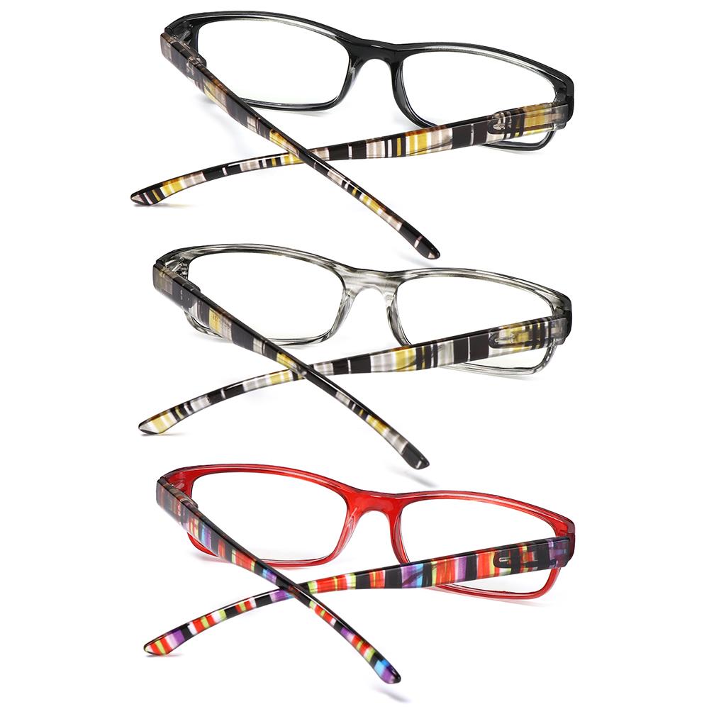 👒OSIER🍂 Women Men Anti-Blue Light Eyeglasses Comfortable Ultra Light Frame Reading Glasses Portable Elegant Fashion Vintage Eye Protection/Multicolor