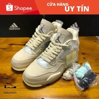 Giày Jordan 4 Off White Full Box Phụ Kiện Bản SlÊU CẤP thumbnail