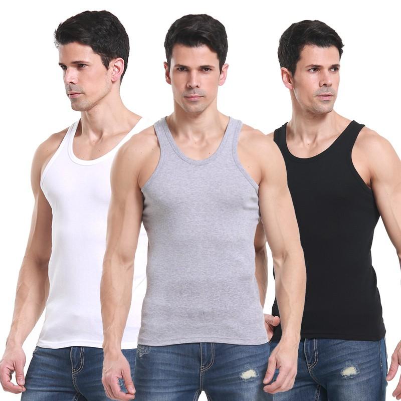 Áo ba lỗ thời trang thể thao nam - Áo ba lỗ ép vân rất thời trang- Áo ba lỗ cho nam