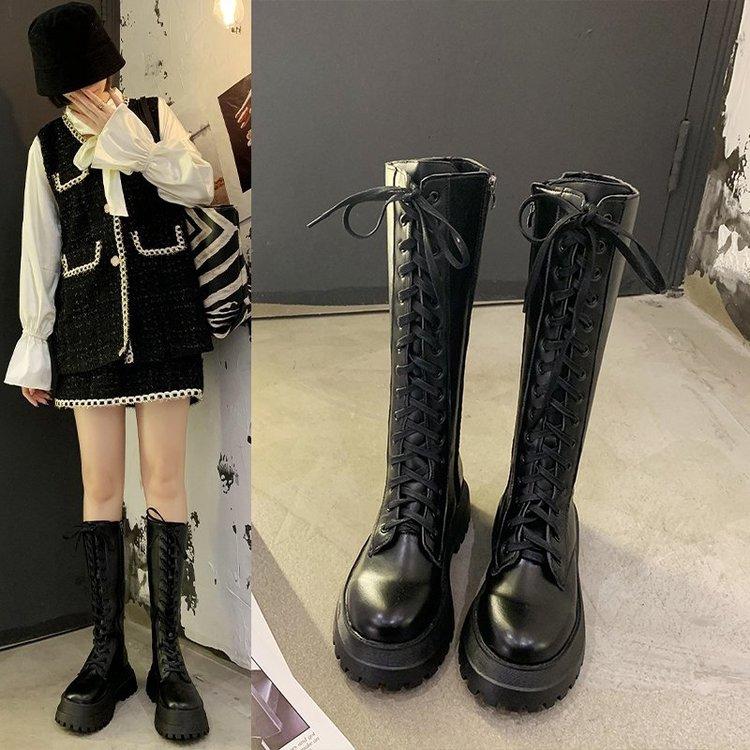 Giày Boots Thời Trang Mùa Thu Cá Tính Cho Nữ