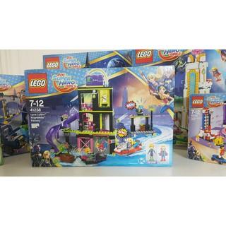 Bộ Lắp Ráp Xưởng Chế Tạo Của Lena Luthor Kryptomite LEGO SUPER HERO GIRLS 41238 (432 chi tiết)