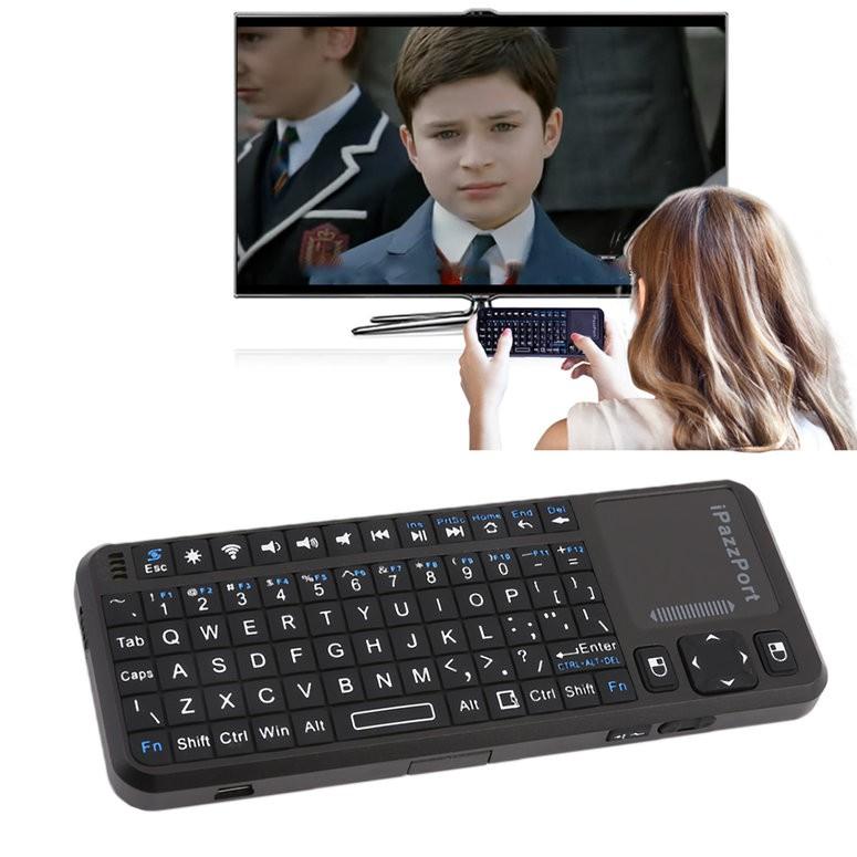 Bàn phím không dây iPazzPort kp-810-10as tích hợp bàn phím tần số 2.4Ghz