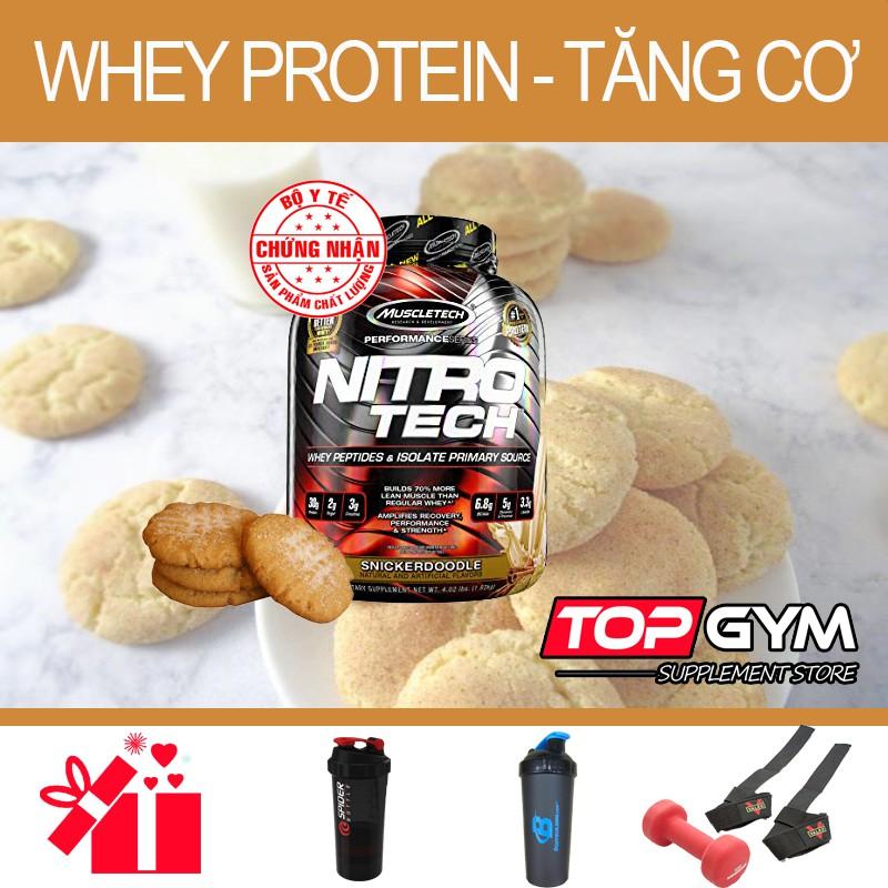 MuscleTech NITRO TECH, 4Lbs (1.8Kg)