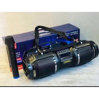 Loa Bluetooth Karaoke Xách Tay Kimiso - T1S Tặng Kèm 1 Micro không dây