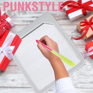 Punkstyle LED Light Fluorescent Writing Board Kids Electronic Luminescent Wordpad Message Handwriting Pad Children