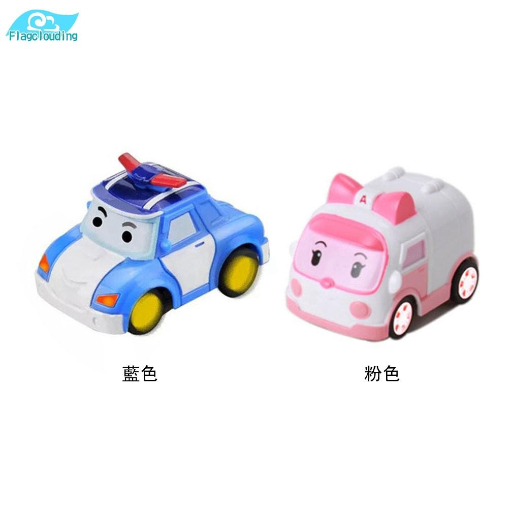 FD Ready Stock Robocar Poli Mini Remote Control Car Toy Children's Watch