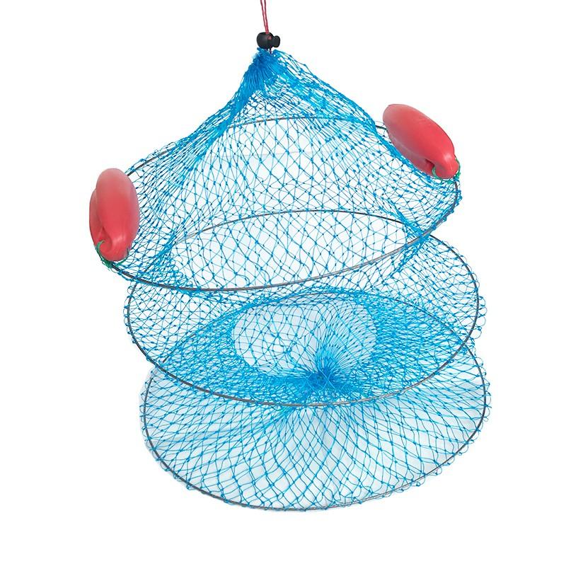 Lưới đựng cá 3 tầng có 2 phao cỡ to
