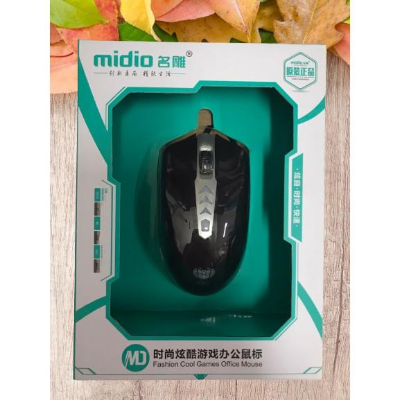 Chuột máy tính gaming MIDIO M106 Blue led