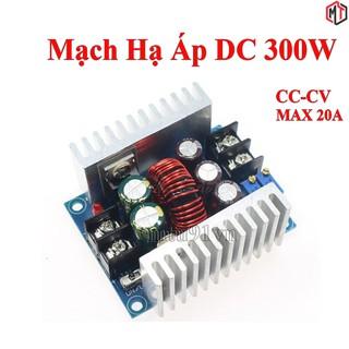 Mạch hạ áp – giảm áp 300W 20A Module buck DC DC 6-40V xuống 1.2-36v