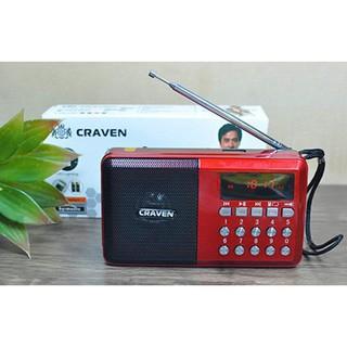 Loa Craven Cr-65 Nghe Nhạc USB Thẻ Nhớ Fm Có Đèn Pin Siêu Sáng thumbnail