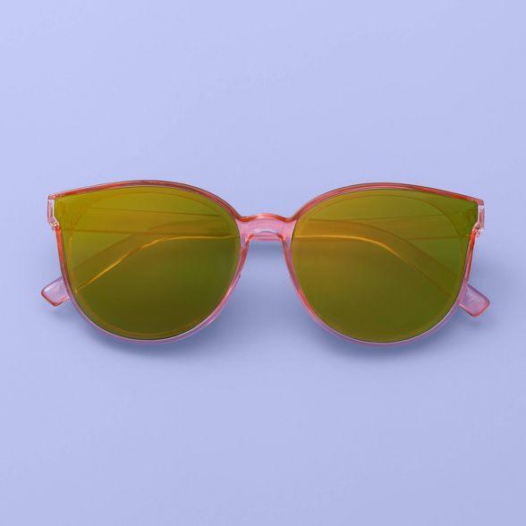 Girls' Round Sunglasses- More Than Magic™ Pink