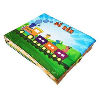 [Nhập TOY1ST giảm 15%][Shopee trợ giá] Sách vải Số đếm giúp cho bé từ 0-5 tuổi có thể vừa học vừa chơi tập đọc tập đếm