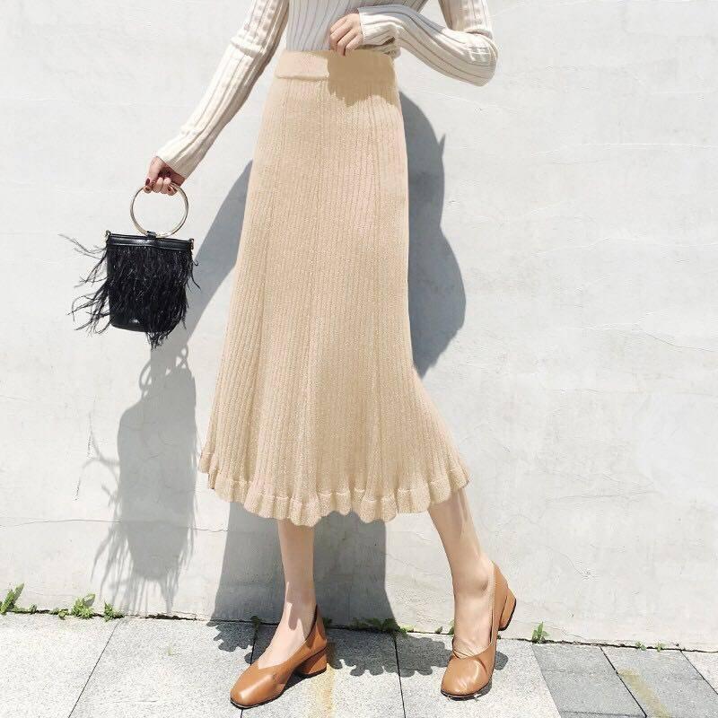 chân váy nữ lưng cao xếp ly thời trang - 22013179 , 5103639654 , 322_5103639654 , 248300 , chan-vay-nu-lung-cao-xep-ly-thoi-trang-322_5103639654 , shopee.vn , chân váy nữ lưng cao xếp ly thời trang