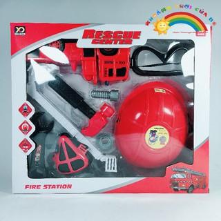 Đồ Chơi Trẻ Em Bộ đồ chơi cứu hỏa KB1127 [ĐỒ CHƠI TRÍ TUỆ]