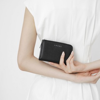 Hình ảnh [Mã SKAMPUSH10 giảm 10% đơn 200K] Ví nữ mini LESAC Stand Wallet-6