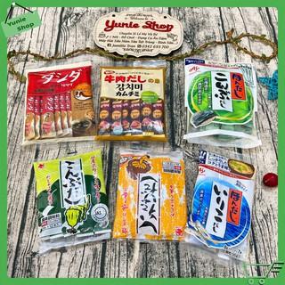 [Lẻ 1 gói] Hạt nêm nội địa Nhật Bản cho bé ăn dặm thumbnail