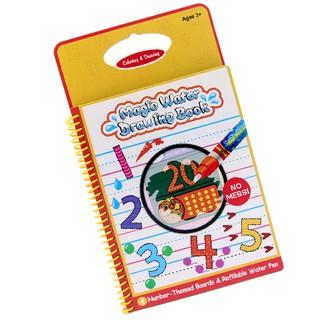Sách tô màu bút nước thần kỳ ToysHouse size vừa cho trẻ em 3-4-5 tuổi, giúp trẻ em phát triển kỹ năng Montessori