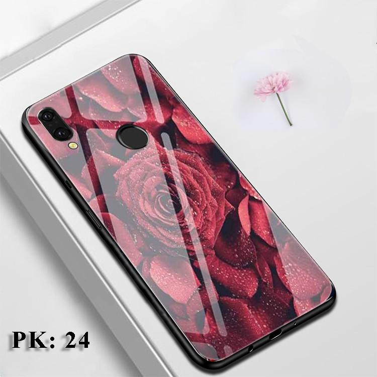[Freeship] Ốp lưng Huawei Nova 3i, Huawei Y9 2019, vỏ case điện thoại  mặt kính sang trọng, chống trầy xước, hoa văn