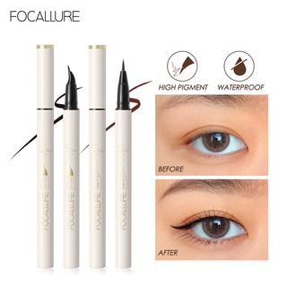 FOCALLURE Two Style Ultrafine quick-dry liquid eyeliner ConfidenceHalo Waterproof Long lasting 1pc 0.6g thumbnail