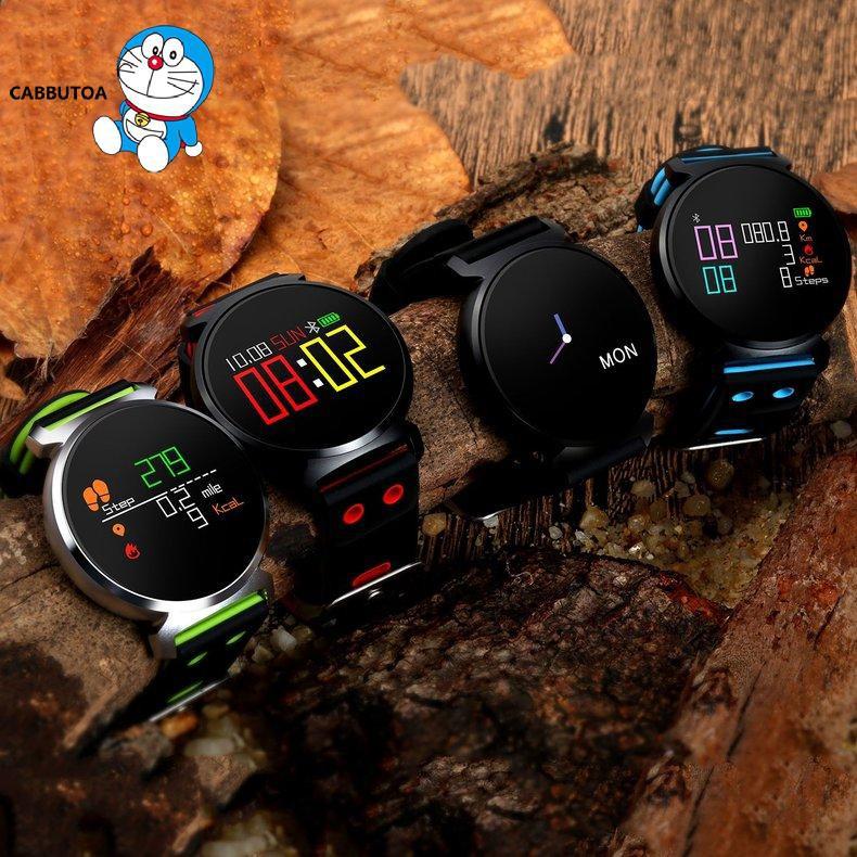 Đồng Hồ Đeo Tay Thông Minh K2 Đo Nhịp Tim Cho Ios Android