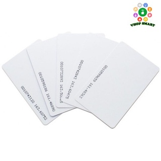 Combo 20 thẻ chấm công bằng từ