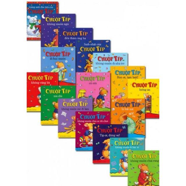 Sách Chuột Típ (bộ 17 cuốn) Truyện kể cho bé trước giờ đi ngủ