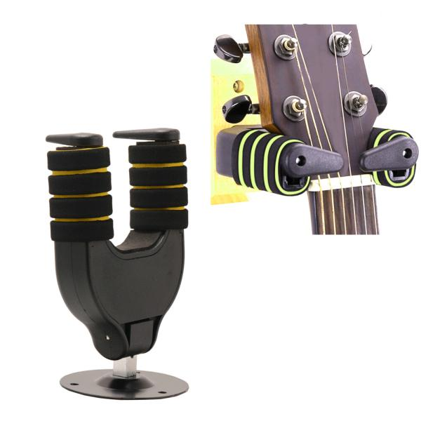 Automatic Lock Stand Wall Mountable Guitar Hanger Hook Support