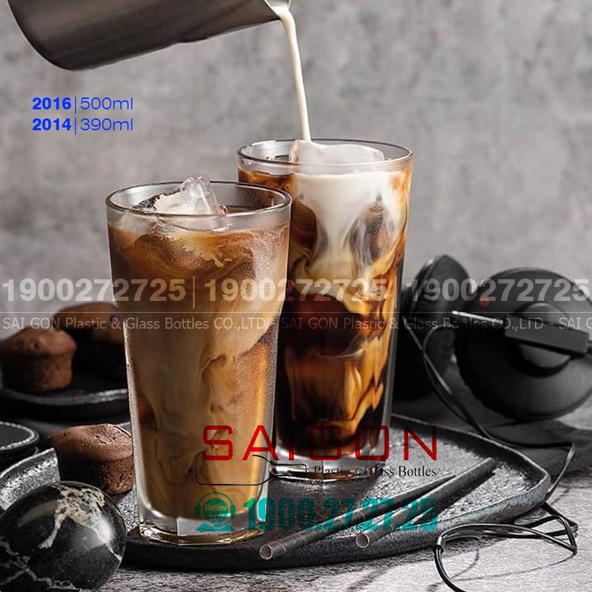 Ly Thủy Tinh Centra Casablanca Cafe Glass 390ml , 460ml   Tùy Chọn Dung Tích