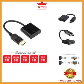 [Siêu khuyến mại] Cáp chuyển đổi display port ra hdmi,Dây Cáp Chuyển Displayport sang Cổng HDMI.shopphukienvtq