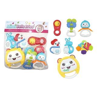Túi đồ chơi xúc xắc 7 món Toyshouse
