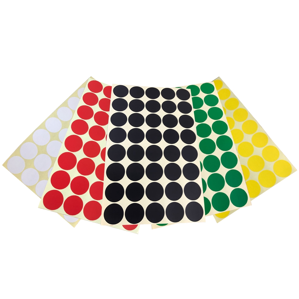25mm Dots Self Adhesive Round Circle DIY Coding Writing Filling Notes Label Sticker