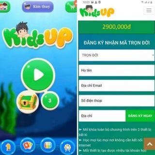 """""""Kids Up – Ứng dụng phát triển trí thông minh cho trẻ"""":"""