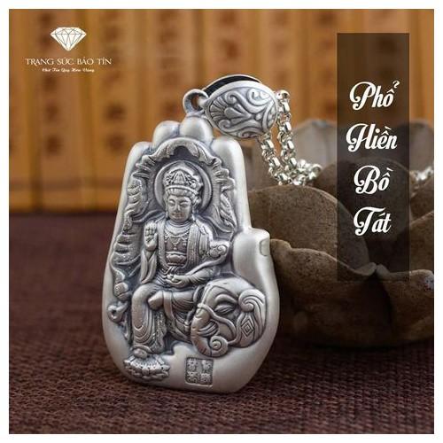 Mặt Dây Chuyền Phật Phổ Hiền Bồ Tát Bàn Tay Bạc Thái - Bảo Tín - 9943221 , 502130639 , 322_502130639 , 880000 , Mat-Day-Chuyen-Phat-Pho-Hien-Bo-Tat-Ban-Tay-Bac-Thai-Bao-Tin-322_502130639 , shopee.vn , Mặt Dây Chuyền Phật Phổ Hiền Bồ Tát Bàn Tay Bạc Thái - Bảo Tín