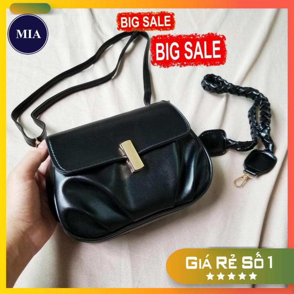 Túi xách nữ cao cấp, khóa bút, 2 loại dây thay đổi giá rẻ MIA09 MIA CLUTCH 194 Free Ship
