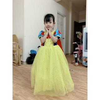 🌈 Váy Bạch Tuyết y ảnh mẫu + tà dài đã về.