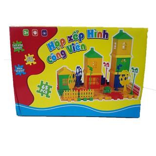Hộp xếp hình công viên đồ chơi LT8889 – qn6y7f