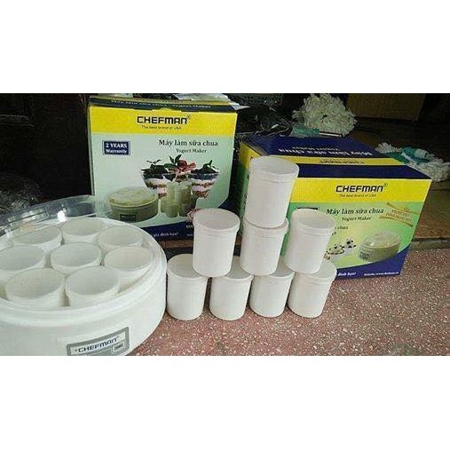 Máy làm sữa chua Chefman 8-16 cốc TT BH 2 năm cốc nhựa cốc thủy tinh - 2749930 , 143109721 , 322_143109721 , 150000 , May-lam-sua-chua-Chefman-8-16-coc-TT-BH-2-nam-coc-nhua-coc-thuy-tinh-322_143109721 , shopee.vn , Máy làm sữa chua Chefman 8-16 cốc TT BH 2 năm cốc nhựa cốc thủy tinh