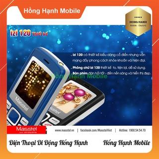 Hình ảnh Điện Thoại Masstel iZi 120 - Hàng Chính Hãng - Hồng Hạnh Mobile-2