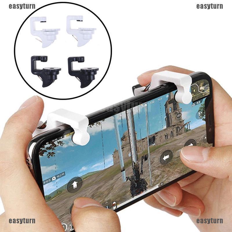 Set 2 nút bấm gắn rời hỗ trợ chơi game bắn súng trên điện thoại thông minh