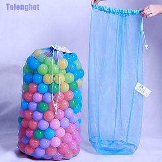 Tolonghot❥ Kids Portable Ball Pit Balls Storage Net Bag Toys Organizer Multi-Purpose