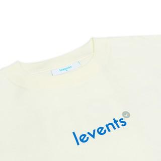Hình ảnh Áo thun LEVENTS Popular Logo/ Cream Blue-4