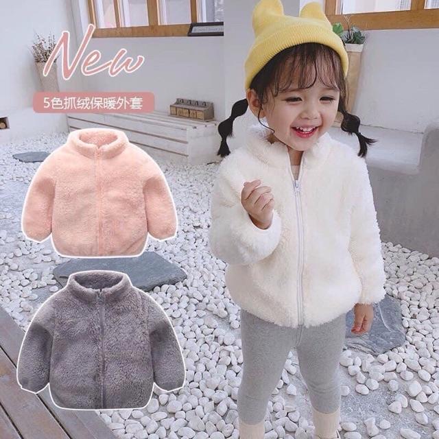 Áo khoác lông trẻ em