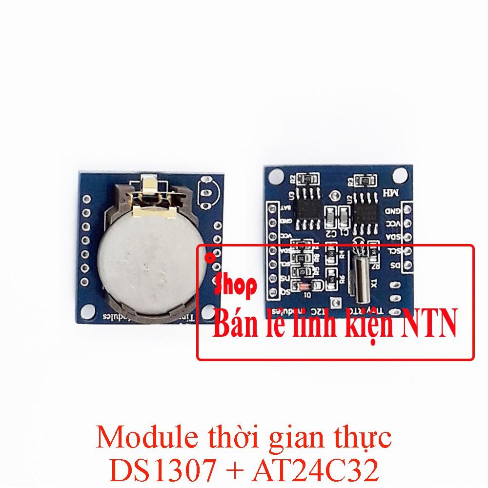 Module thời gian thực DS1307 + AT24C32