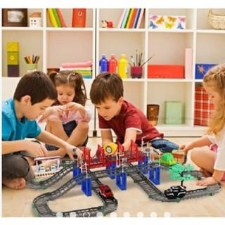 [XẢ KHO GIÁ SỐC] đồ chơi thông minh cho bé – BỘ LẮP RÁP ĐƯỜNG ĐUA Ô TÔ 88 CHI TIẾT