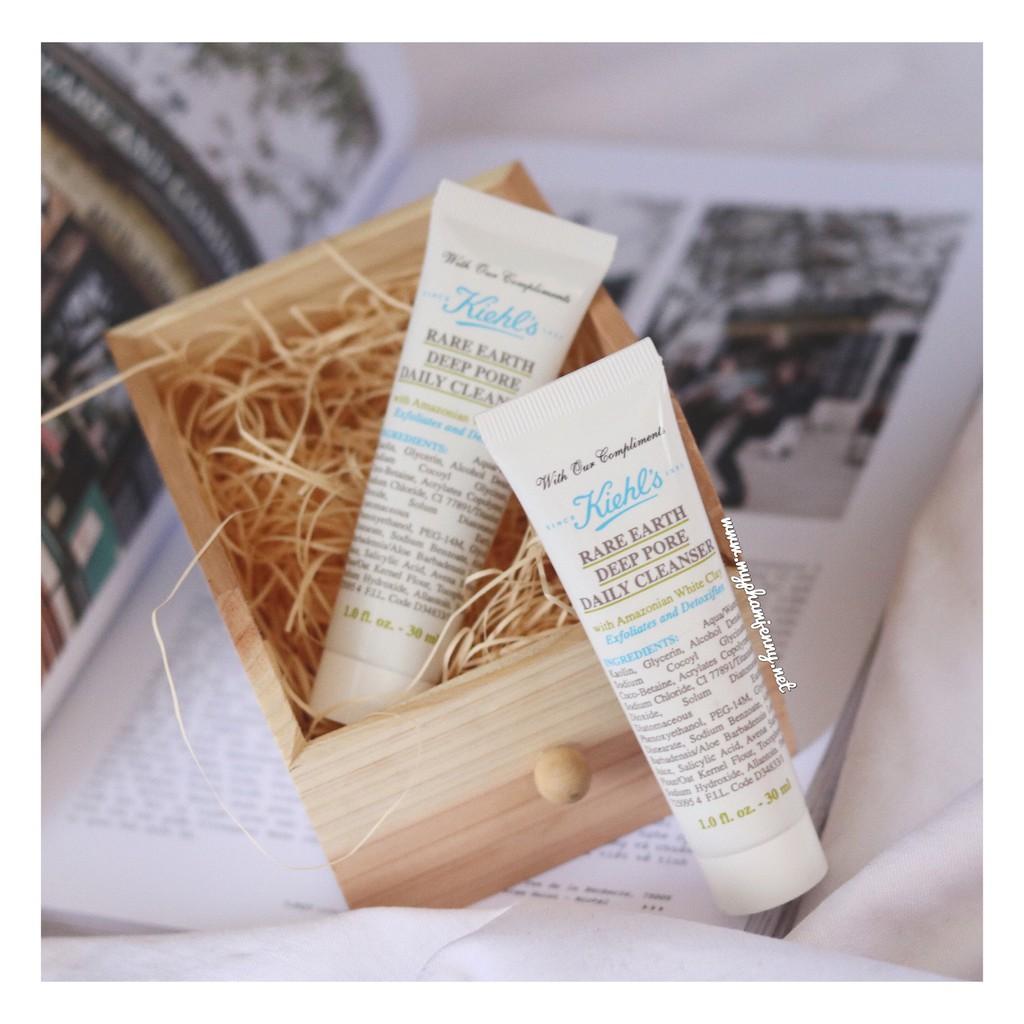 Sữa Rửa Mặt Đất Sét Kiehl's Rare Earyh Deep Pore Daily Cleanser 30ml
